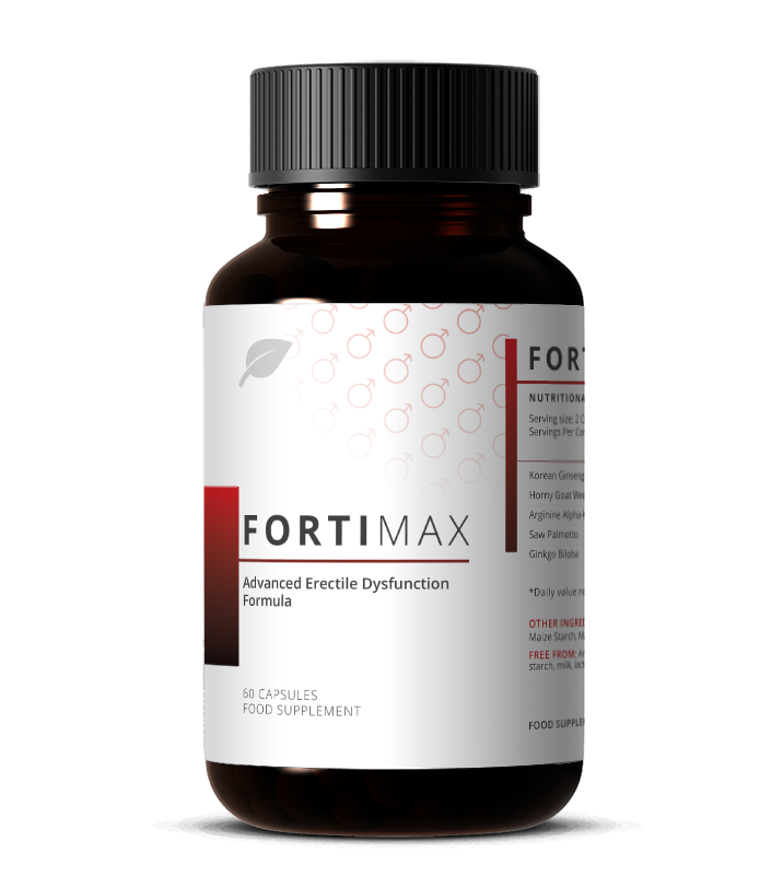 FortiMAX - Erectile Dysfunction - Life Capsule Nutrition