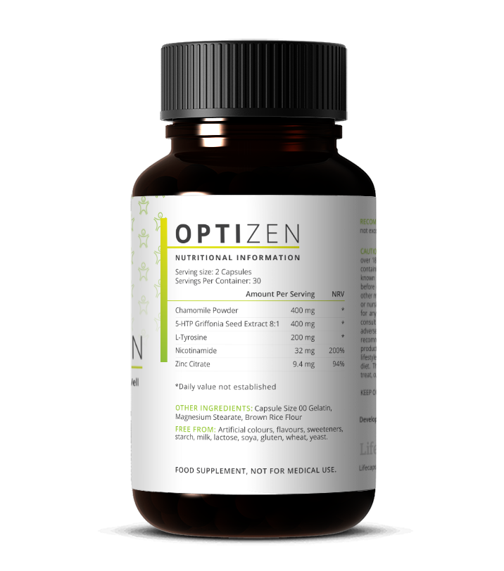 OptiZEN - Happiness & Well Being - Life Capsule Nutrition