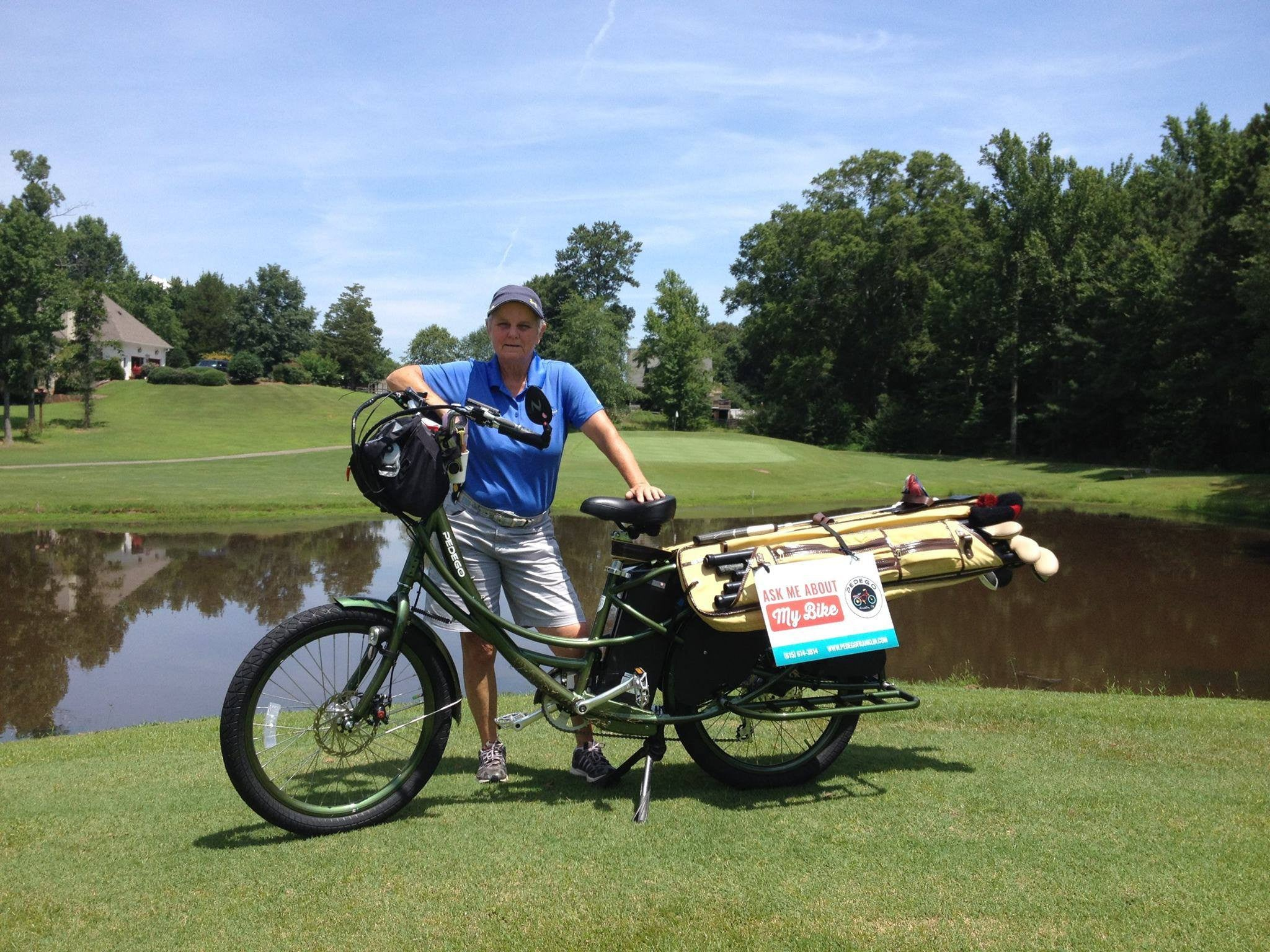 Pedego Stretch Golf