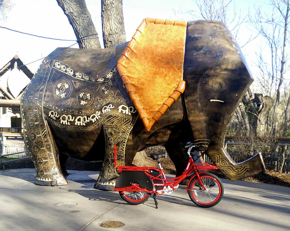 Zoom Go elephant cargo bike