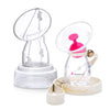 Silicone Breast Pump with Pump Capsule, Pump Stand, Strap and Stopper