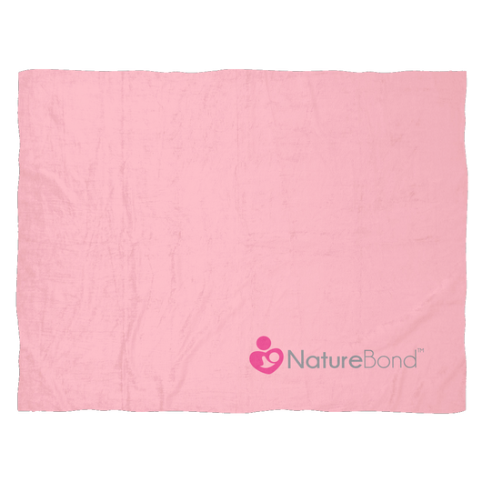 Ultra Plush Soft Baby Blanket - Soft Pink