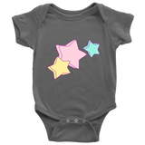 """My Shinning Star"" Baby Onesie (11 Colors, 5 Sizes, High Quality) - Designed & Printed in USA"