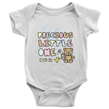 """Precious Little One"" Baby Onesie (11 Colors, 5 Sizes, High Quality) - Designed & Printed in USA"