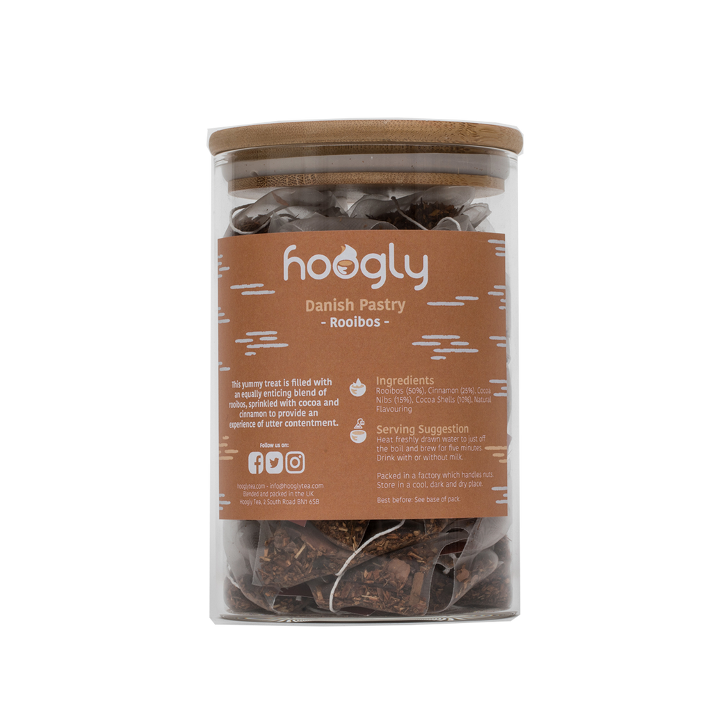 Danish Pastry Rooibos - 50 pyramid bags with jar