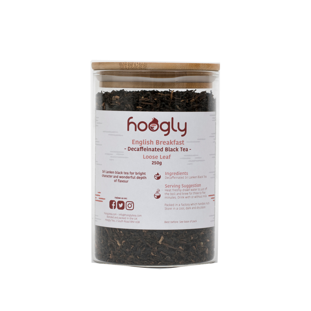 Decaffeinated English Breakfast - Black Tea - Loose Leaf 250g