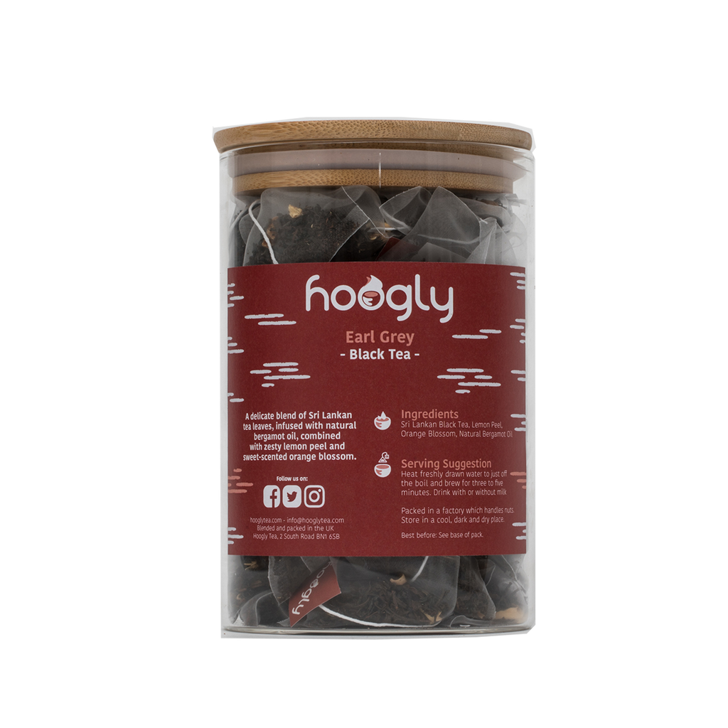 Earl Grey - Black Tea- 50 pyramid bags
