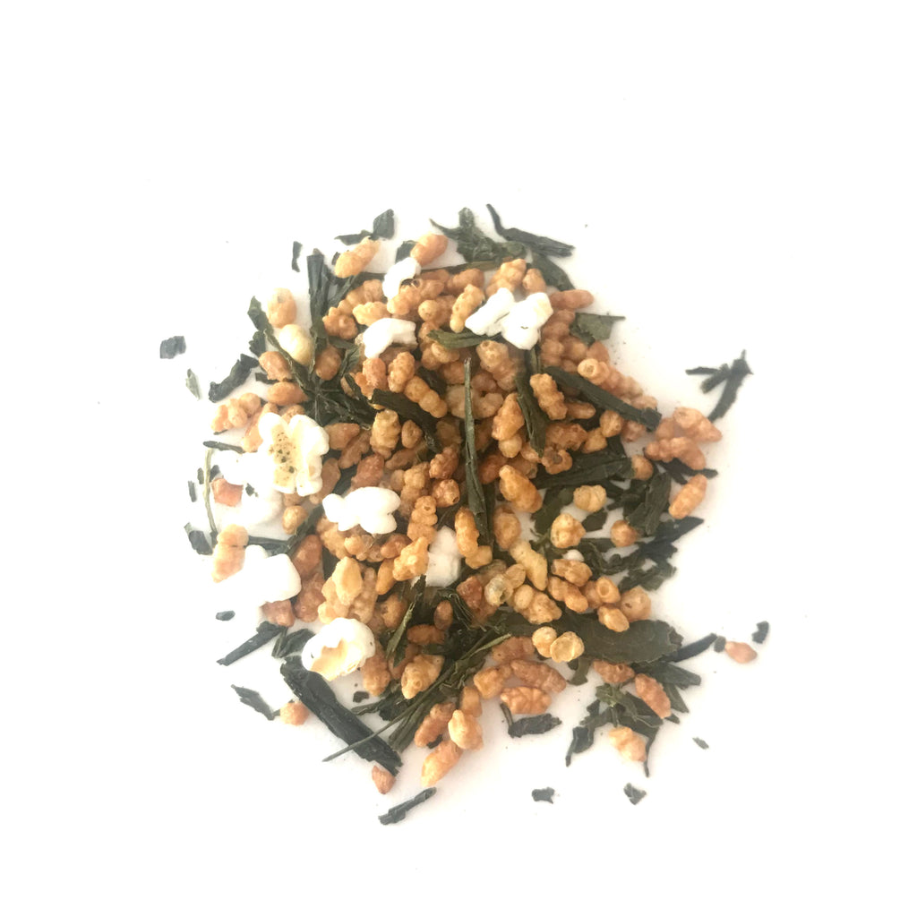 Genmai Cha - Green Tea - Loose Leaf 250g (also known as popcorn tea)