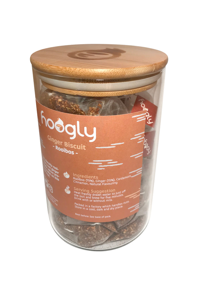 Ginger Biscuit - Rooibos - 50 pyramid bags