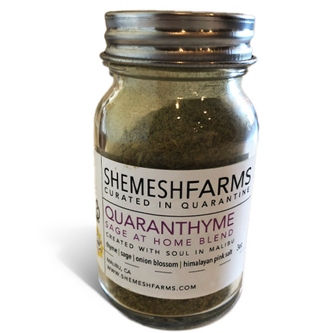 Quaranthyme: Sage at Home Blend 3 oz. bottle