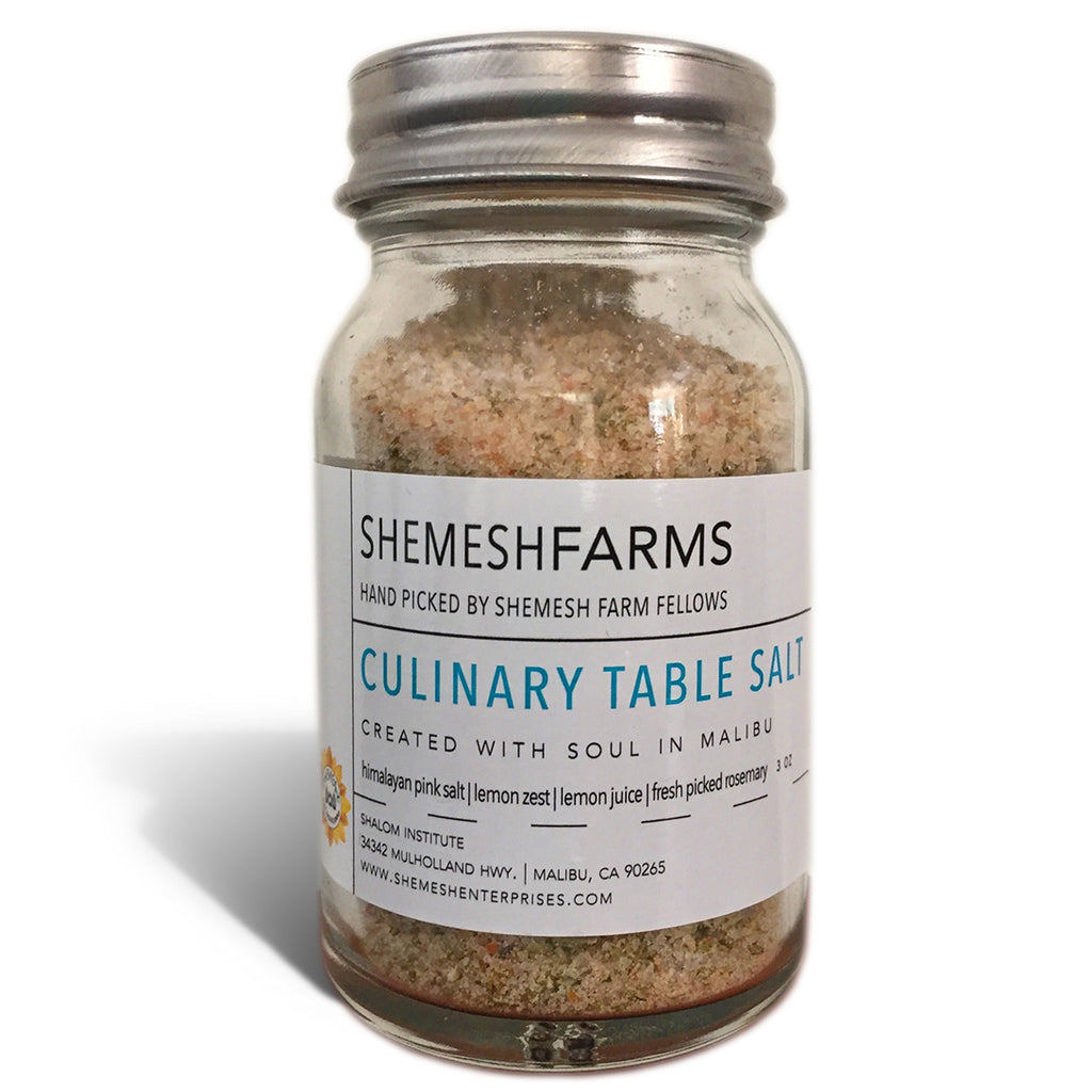 Culinary Table Salt 3 oz. bottle