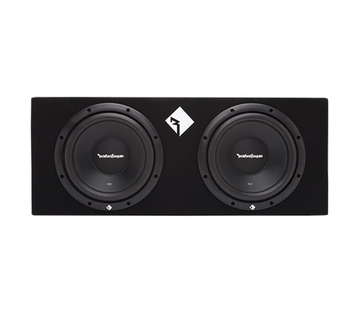 Rockford Fosgate R1-2X10 Dual 10 Inch Loaded Sub Enclosure