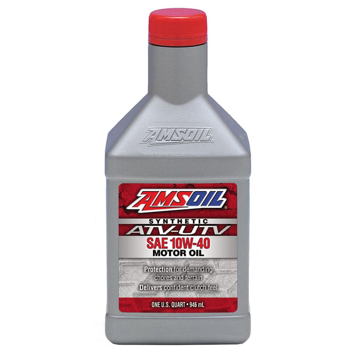 Amsoil AUV40QT 10W-40 Synthetic Engine Oil for ATV / UTV