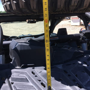 Bent Metal Offroad X3 Spare Tire Carrier height