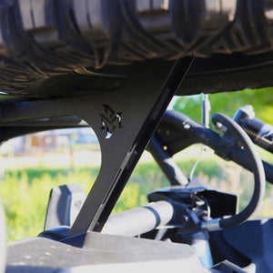 Bent Metal Offroad X3 Spare Tire Carrier weight bearing arm