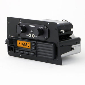 Mobile Radio / Intercom Mounting Plate for Can-Am Commander and Maverick