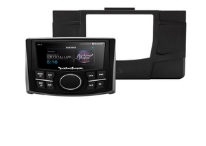 Rockford Fosgate Stage 1 Polaris RZR Headunit Kit