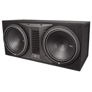 Rockford Fosgate P1-2X12 Dual 12 Inch Subwoofer Loaded Enclosure