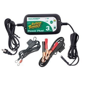 1 battery tender power plus 3 amp charger