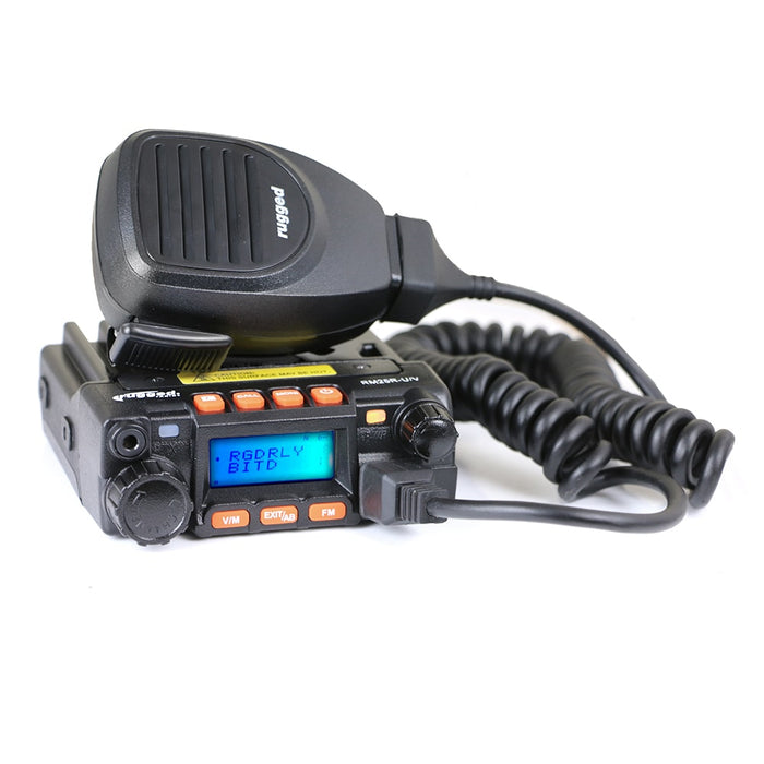 Rugged Radio RM-25R 25 Watt Dual Band Mobile Radio