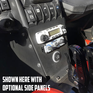 Complete Intercom and Radio Mount for Can-Am X3