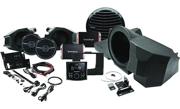 Rockford Fosgate Stage 3 Polaris RZR Stereo Kit