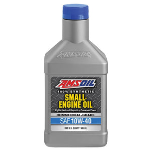 1 quart of amsoil ASFQT commercial grade 10w-40 synthetic small engine oil