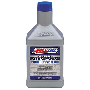 1 quart amsoil AUFDQT Front drive fluid for atv and utv applications