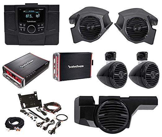 Rockford Fosgate Stage 4 Polaris RZR Stereo Kit