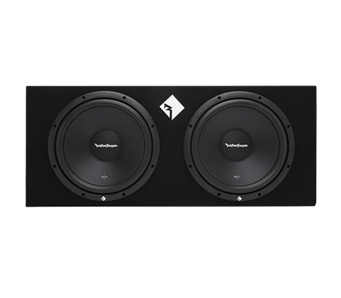 Rockford Fosgate R1-2X12 Dual 12 Inch Loaded Sub Enclosure