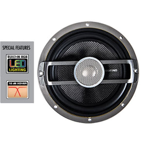 diamond audio hxm65 led marine grade 6.5 inch speakers
