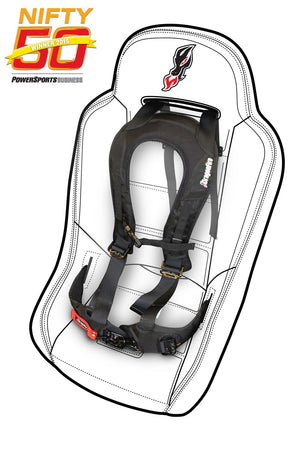 DragonFire UTV 4 Point EVO Harness