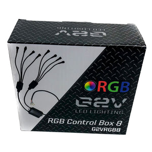 G2V RGB Control Box 8 Lead