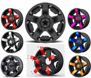 KMC XD SERIES Colored Replacement Star's (5 PACK)