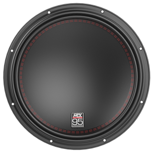 "MTX 95 series 15"" 1500-WATT RMS DUAL 2Ω CAR AUDIO SUBWOOFER"