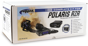 Rugged Radio Complete Kit for Polaris RZR