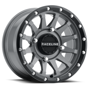 Raceline Stealth Grey A95SG Trophy UTV Wheel