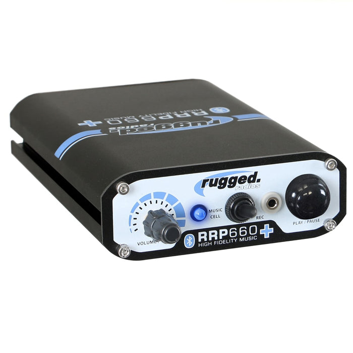 Rugged Radios RRP660 PLUS Intercom - Bluetooth