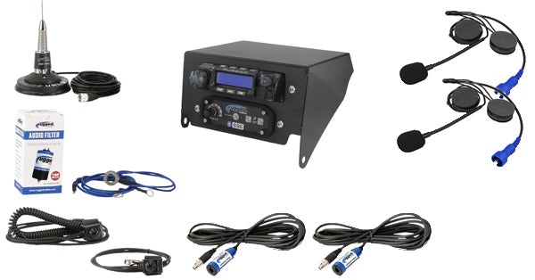 Rugged Radio Complete Kit for Can-Am (Top Mount)