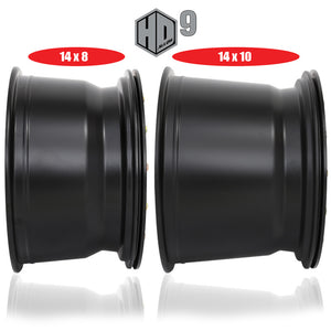 sti hd9 wheel width comparison 8 inch vs 10 inch