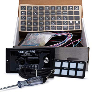 Switch Pros SP9100 8 Switch Kit