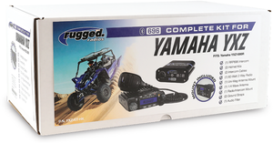 Rugged Radio Complete Kit for Yamaha YXZ