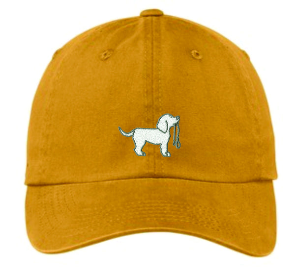 Mens Pigment-Dyed Garment Washed Hat
