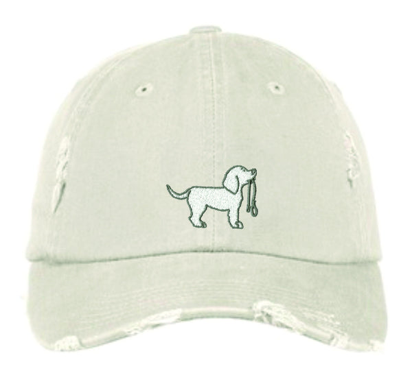 Destressed Garment Washed Hat
