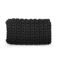 Crochet Clutch- Black