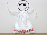 Good Morning Towel Drawstring Bag