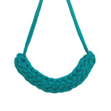 T-Shirt Yarn Necklace- Turqoise Green