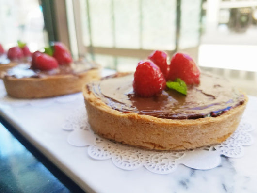 Chocolate Raspberry Tarte (6 pieces)