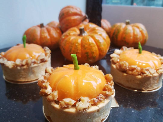 Pumpkin Spice Tart  (6 pieces)