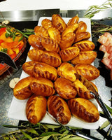 12 Full size meat piroshkies (feeds 6-12 people)